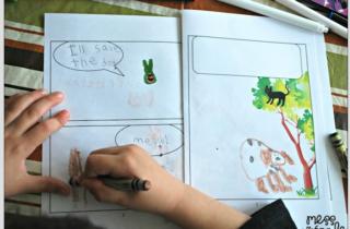 Cómics para sociabilidad de niños autistas